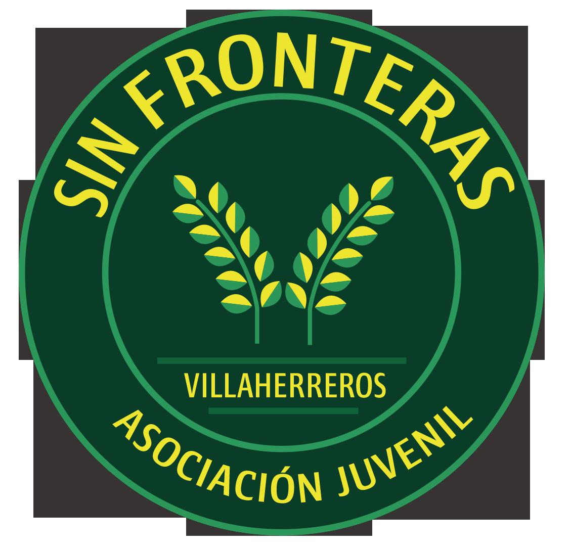 Logo redondo fondo verde